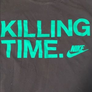 Nike killing time t shirt